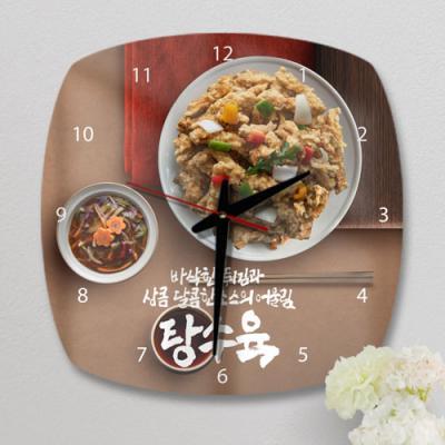 af892-아크릴시계_중국집대표인기메뉴(탕수육)