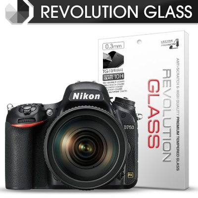 [프로텍트엠/PROTECTM] 레볼루션글라스 0.3T 강화유리필름 방탄액정보호 2장 디지털 카메라 CAMERA 니콘 NIKON D750