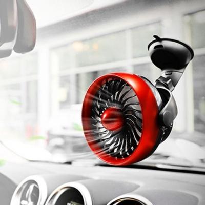 차량 선풍기 부착 스탠드 자동차 무선 충전 선풍기