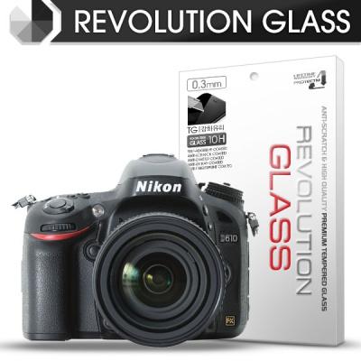 [프로텍트엠/PROTECTM] 레볼루션글라스 0.3T 강화유리필름 방탄액정보호 2장 디지털 카메라 CAMERA 니콘 NIKON D610