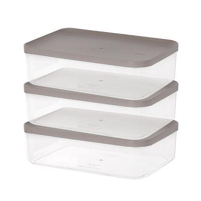 주방 냉장고수납 음식물 식재료 반찬 보관용기7호 3팩