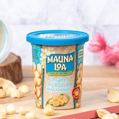 마우나로아 무염 드라이 로스티드 마카다미아 컵 113G