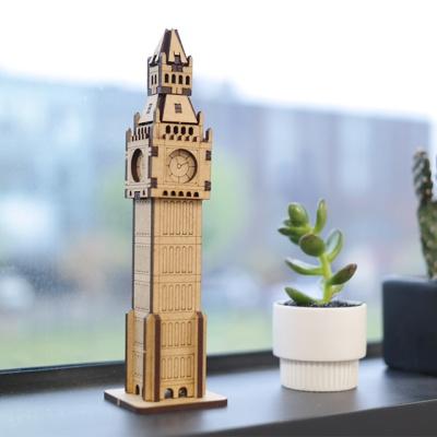 3D입체퍼즐 나무퍼즐 빅벤 만들기 수업 놀이키트 장난감 집콕놀이 취미
