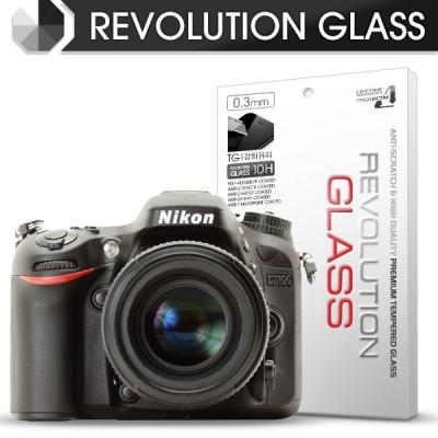 [프로텍트엠/PROTECTM] 레볼루션글라스 0.3T 강화유리필름 방탄액정보호 2장 디지털 카메라 CAMERA 니콘 NIKON D7100