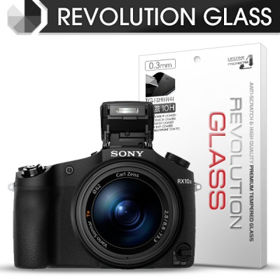 [프로텍트엠/PROTECTM] 레볼루션글라스 0.3T 강화유리필름 방탄액정보호 2장 디지털 카메라 CAMERA SONY 소니 DSC-RX10M2 / RX10M3