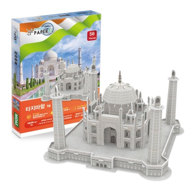 3D입체퍼즐 타지마할 만들기 수업 미니어처 모형 제작 취미 집콕놀이