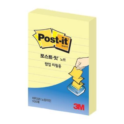 포스트잇 팝업리필KR-320L 라인 134328