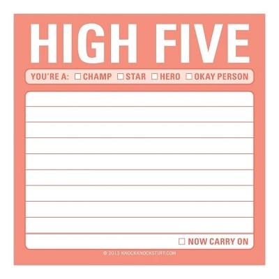 Sticky Note-High Five (하이파이브!)