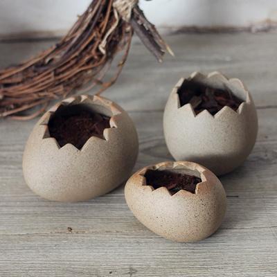 [콩지] 새알 화분