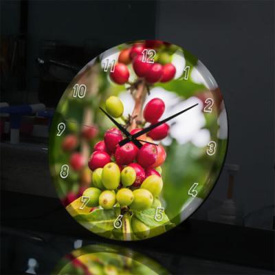 nj076-LED시계액자35R_커피빈(커피나무)