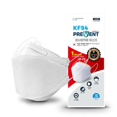 요이치 KF94 프리벤트 황사방역용 마스크 대형 1매