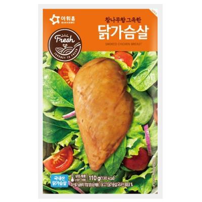 [아워홈] 참나무향 그윽한 닭가슴살(110g, 냉장)