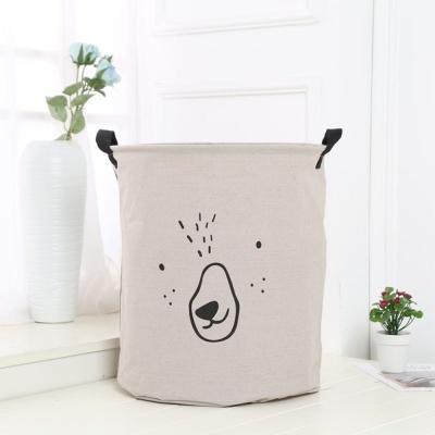 세탁물 이동식 바구니 세탁 빨래 예쁜 바스켓 그레이