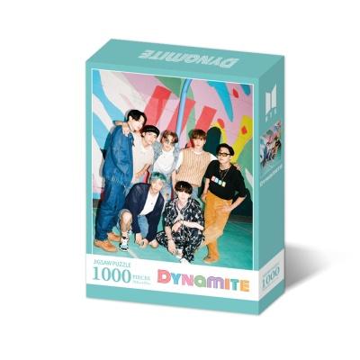 BTS 다이너마이트 직소퍼즐 1000피스 민트