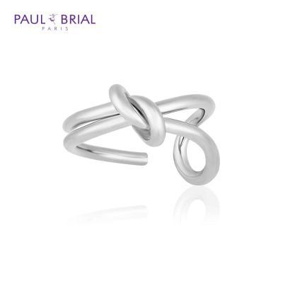 폴브리알 POBR0143 (WG) 언발 꽈배기 반지