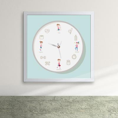 cy607-건강한생활패턴_액자벽시계