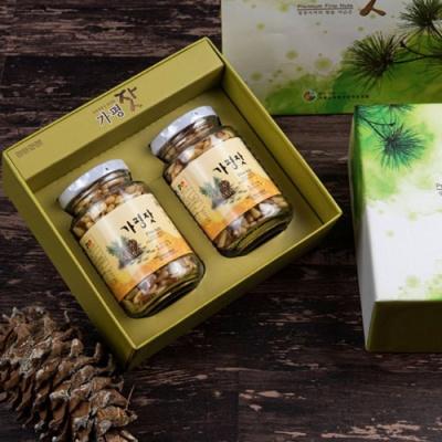 [가평특산품] 청정역의 향을 머금은 가평잣 140gx2병