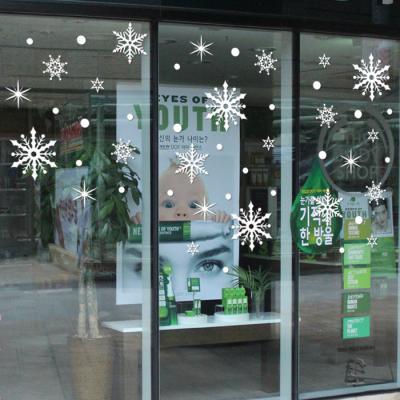 제제데코 크리스마스 눈꽃 스티커 장식 CMS4J221