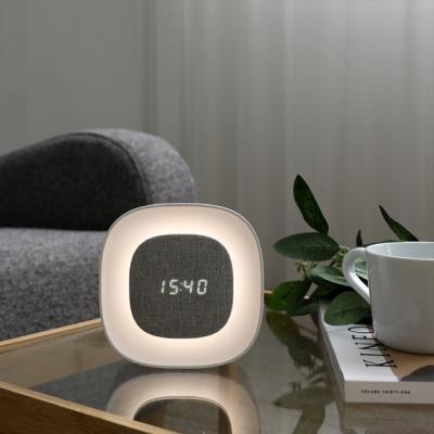 오아 무드클락 LED 무드등 탁상 알람 시계