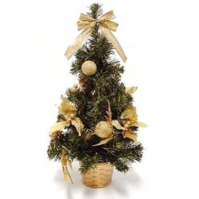 미니 크리스마스 트리 40cm(골드)
