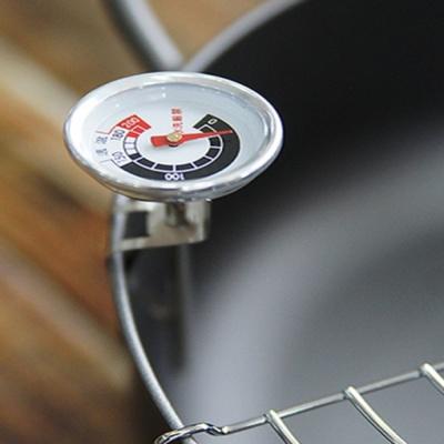 주방 요리 음식 다용도 튀김 기름 국물 클립 온도계