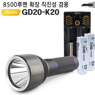 해루질 LED랜턴 GD20 K20써치라이트 탐조등 LED후레쉬