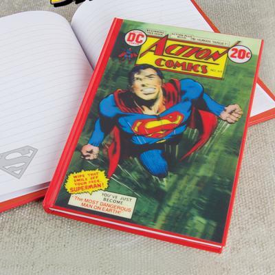 [영국 팔라돈정품] DC코믹스 슈퍼맨 3D 유선노트
