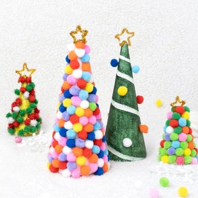 민화샵 크리스마스 뿅뿅이 미니 트리 만들기 키트