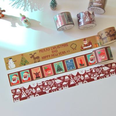 크리스마스 마스킹 테이프(3type)
