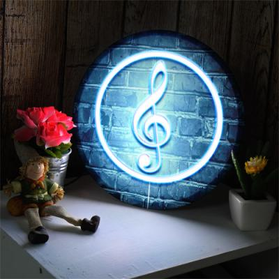 ne547-LED액자25R_빛나는높은음자리표_LED홍보사인물