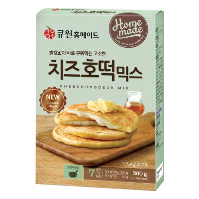 큐원 치즈 호떡 믹스 360g (프라이팬용)