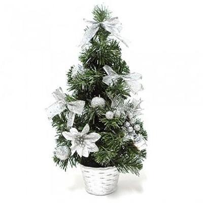 미니 크리스마스 트리 40cm(실버)