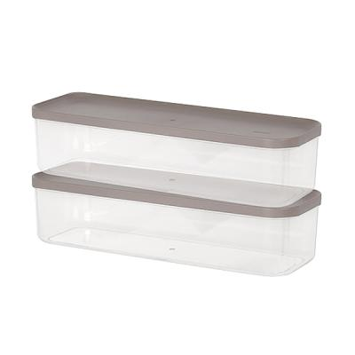 주방 냉장고수납 음식물 식재료 반찬 보관용기8호 2팩