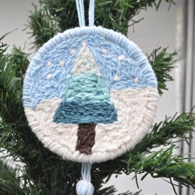 펀치니들 크리스마스 트리 DIY 키트
