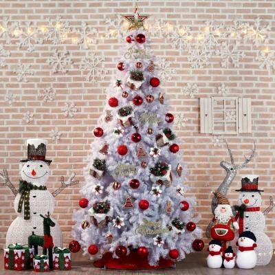 300cm 크리스마스 선물 화이트 홀로그램 트리 풀세트