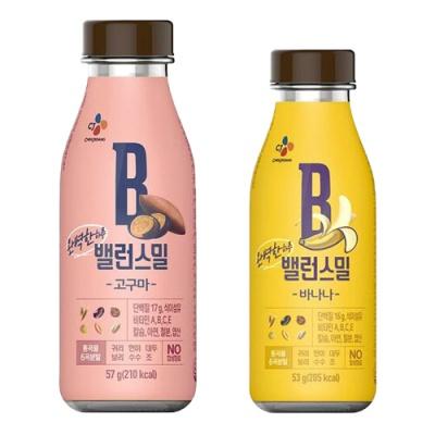 [CJ제일제당] 밸런스밀 고구마x3개+바나나x3개