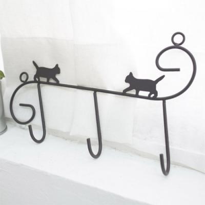 고양이 미니 후크 옷걸이 걸이 정리용품 추카추카넷