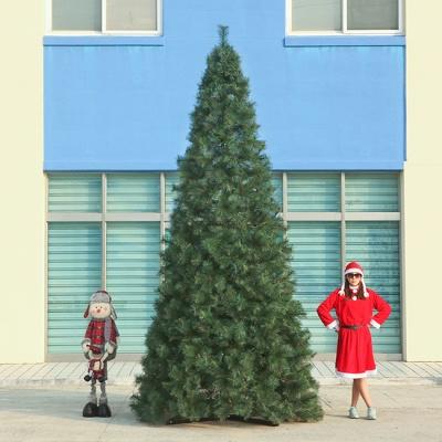 400cm  크리스마스트리 리얼 솔잎트리 대형트리