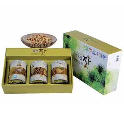 [가평특산품] 청정역의 향을 머금은 가평잣 140gx3캔