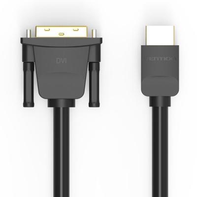벤션 무산소 양방향 HDMI to DVI 케이블 1~3m/DVI듀얼