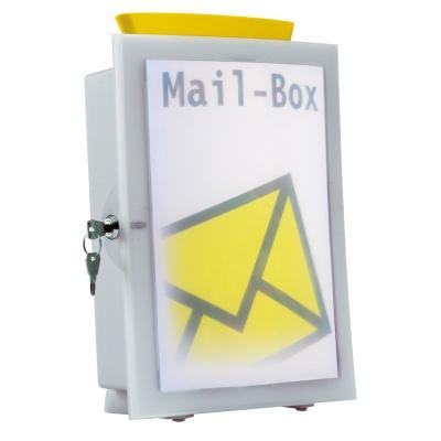 우편물 보관함,투표함,모금함,건의함 등으로 사용하는..독일 HAN 대용량 벽걸이 우편함 4102-11