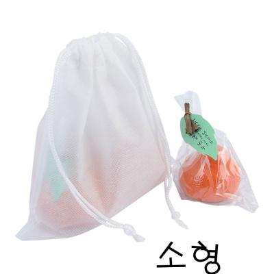 부직포 주머니 소형X10개 더스트백 복주머니 속포장용