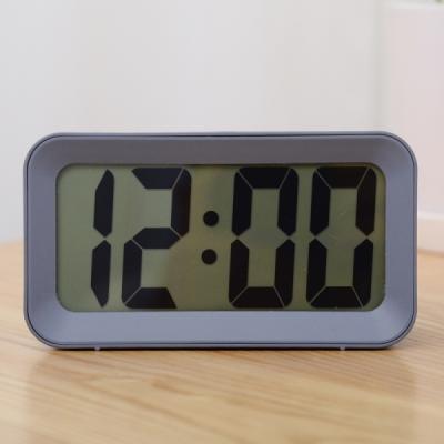 New LCD 디지털 알람 탁상 시계 (그레이) 추카추카넷