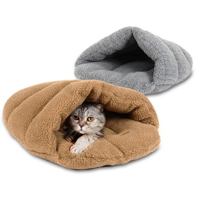 [후펫] 슬리퍼 고양이 하우스-그레이(S)