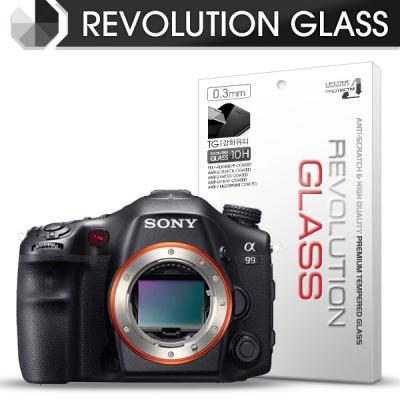 [프로텍트엠/PROTECTM] 레볼루션글라스 0.3T 강화유리필름 방탄액정보호 2장 디지털 카메라 CAMERA SONY 소니 DSLT-A99V