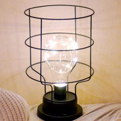 LED 메탈 인테리어 와이어전구 (군고구마통)