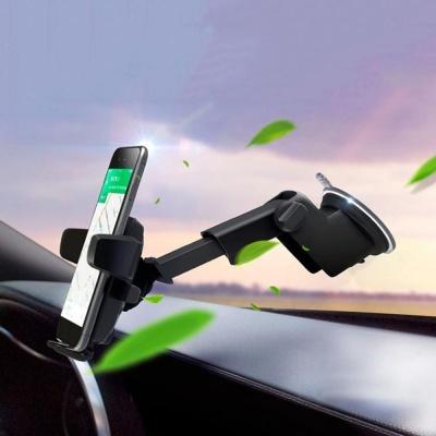 자동잠금 압축 대시보드 브래킷 차량용 핸드폰홀더