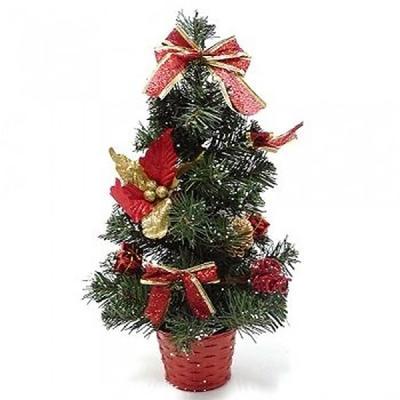 미니 크리스마스 트리 40cm(레드)
