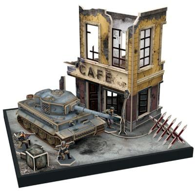 큐빅펀 3D퍼즐 독일중전차 티거Tiger1