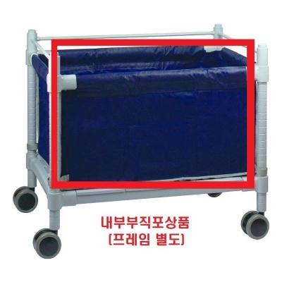 이동형 세탁물 수거함 부직포바구니 (3개 묶음)
